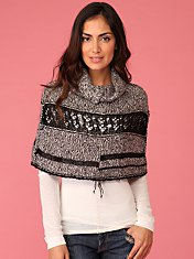 Mesh Lace Shoulder Warmer