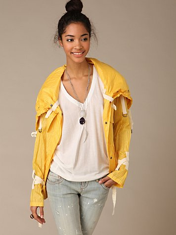 Nicholas K Larmont Jacket at Free People Clothing Boutique :  rain nk larmant rain jacket hoodie