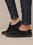 Black Distressed Keds