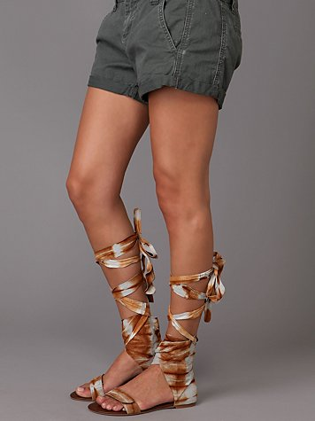 Batik Wrap Sandal from freepeople.com
