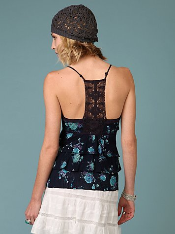 Boho Ruffle Cami from freepeople.com