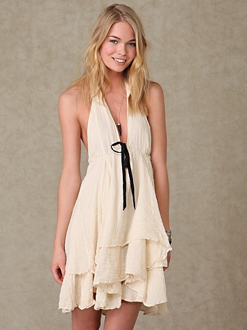 Petticoat Halter at Free People Clothing Boutique :  drawstring free people clothing womens