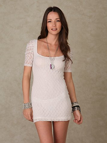 Scandalous Lace Tunic