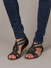 Saint Sandal at Free People Clothing Boutique :  sandal sandals shoe shoes