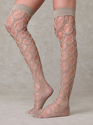 Crochet Tall Sock