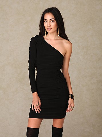 Graham & Spencer One Shoulder Dress
