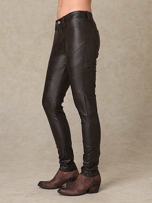 Blank Leather Pants
