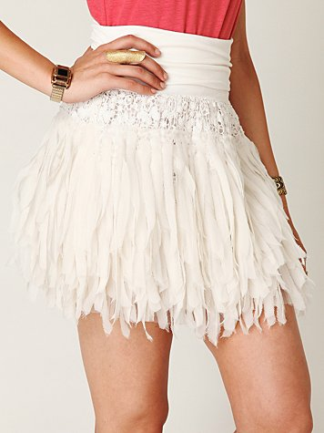 FP ONE Shredded Chiffon Mini