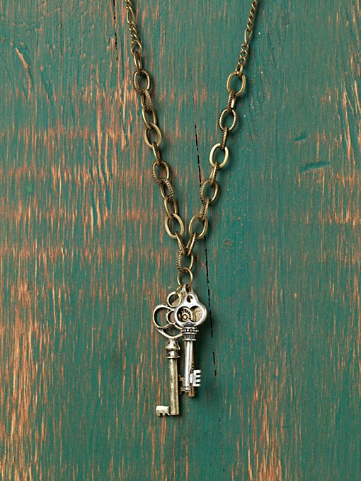 Coterie Of Keys Necklace