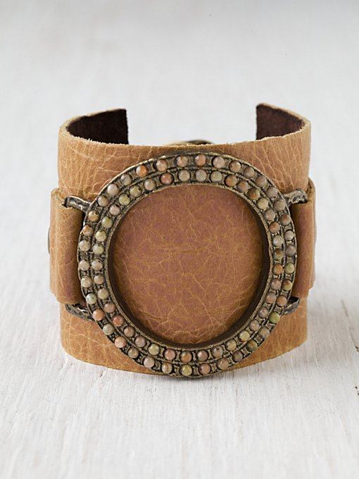 Dustbowl Leather Cuff