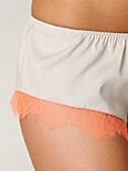 French Lace Trim Short