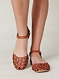 Lattice Mary Jane Sandal