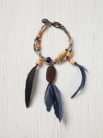 Erickson Beamon Feather Bracelet