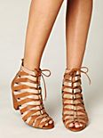 Cambria Lace Up Heel