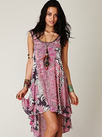 Swing Printed Tank Dress at Free People Clothing Boutique