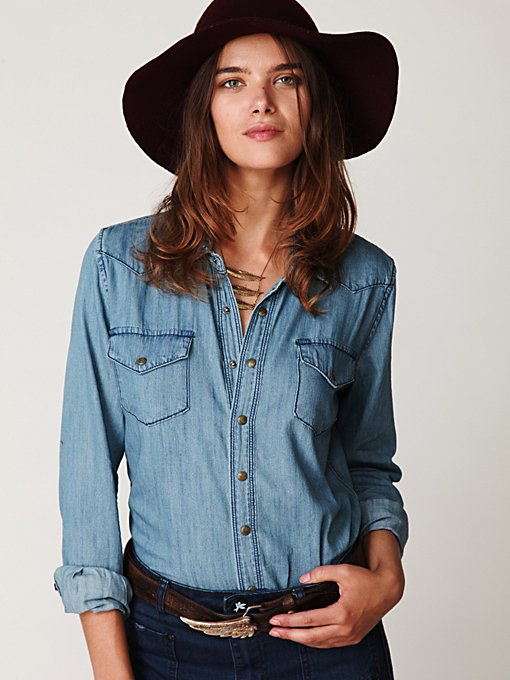 Boy Blue Denim Shirt