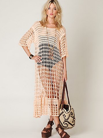 FP New Romantics Crochet Variety Dress