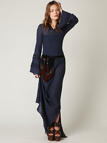 Hooded Maxi Dress