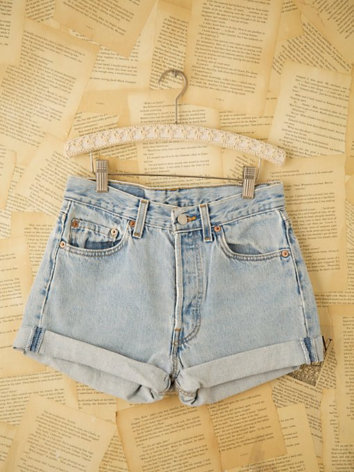 Vintage Levi's Denim Cutoffs in vintage-loves-denim