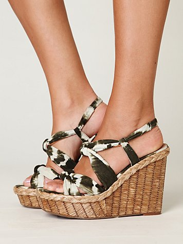 Bacoli Wedge at Free People Clothing Boutique :  wedges bacio 61 shoes heels