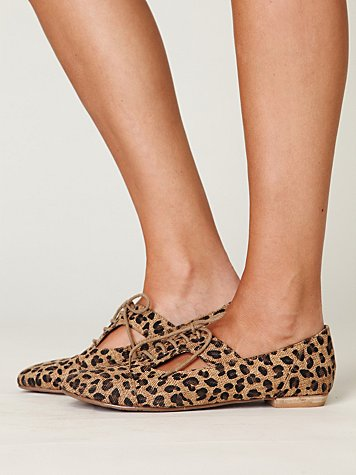 Free People - Matisse Gregory Brogue :  leopard print matisse free people gregory brogue free people