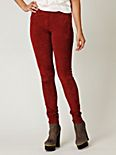 Stretch Suede Leggings