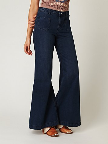 Rangers High Rise Wideleg Jean