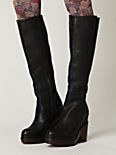 Hoss Stacked Platform Knee Boot