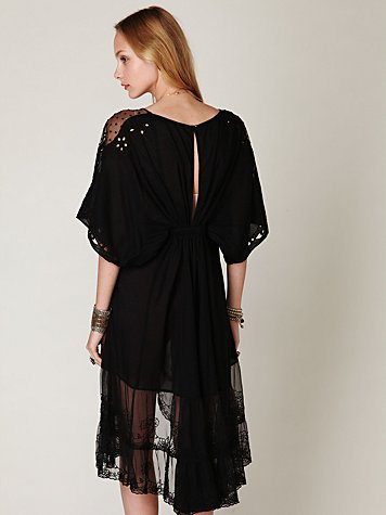 FP New Romantics All the Best Embroidered Dress