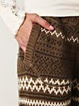 Fair Isle Sweater Pants