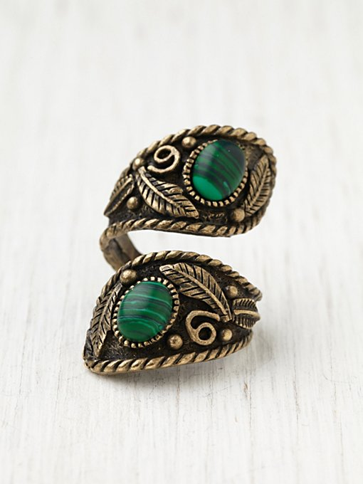 Malachite Wrap Ring