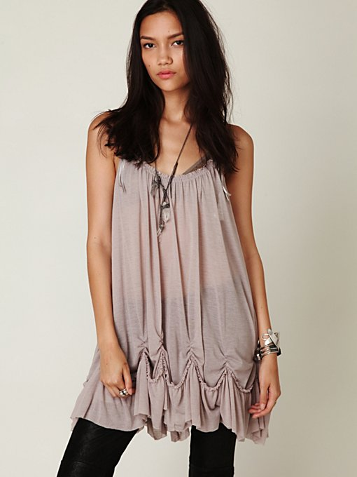 Sleeveless Pick Me Up Hem Tunic