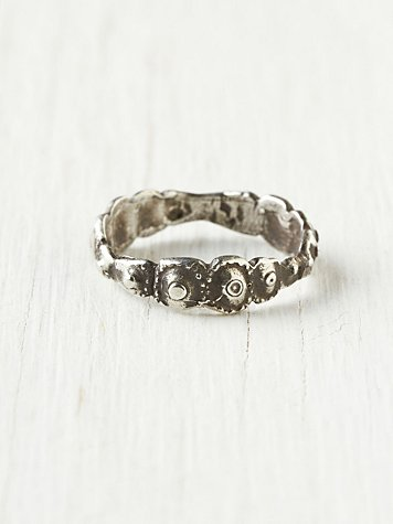 Sea Urchin Band Ring