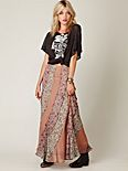 Pieced Together Maxi Skirt