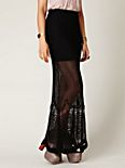 FP Spun Fishtail Maxi Skirt