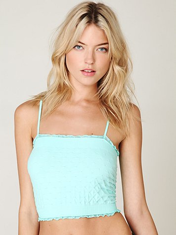Intimately Free People Seamless Pucker Crop Top