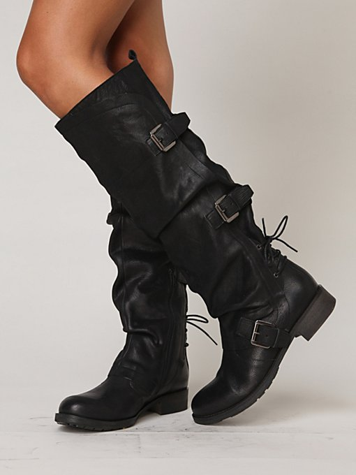 Marl Buckle Tall Boot in sale-sale-shoes