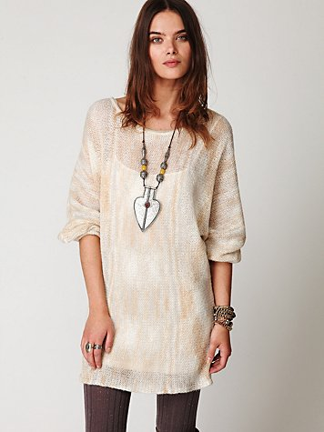 Free People Spacedye Sweater Dress