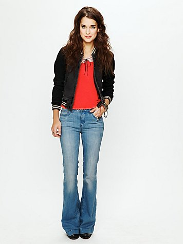 Free People FP 5 Pocket High Rise Flares