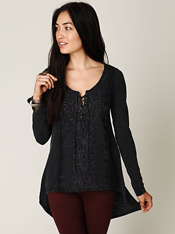 Castello Embroidery Top