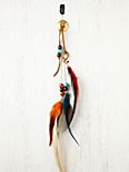 Falling Feather Hair Clip