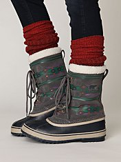 Pac Graphic Weather Boot