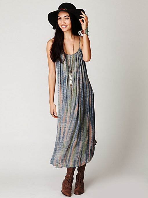 Gale Printed Shapeless Dress