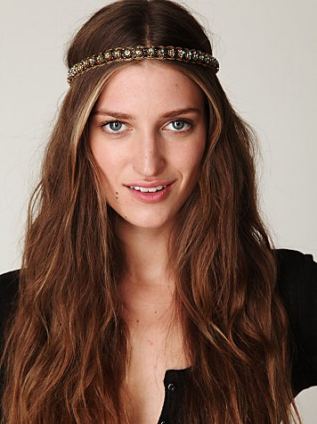 Free People Zina Stone Headpiece