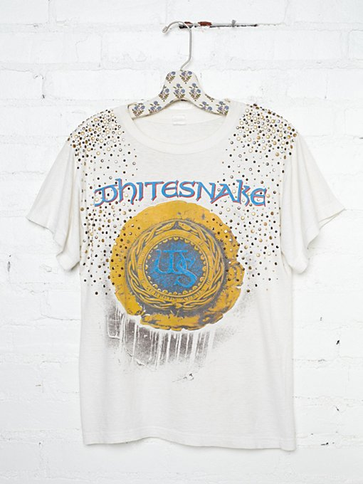 Vintage Studded Whitesnake Tee in catalog-nov-11-catalog-nov-11-catalog-items