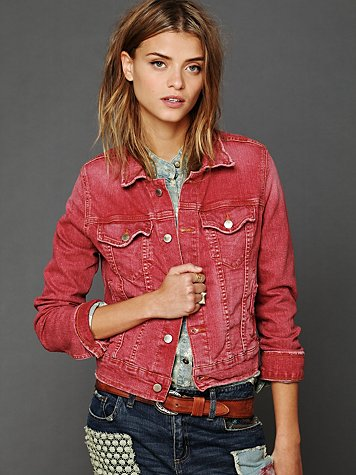 M2f Along The Way Denim Jacket