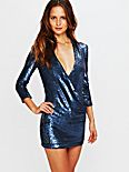 Baly Sequin Dress