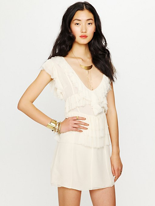 La Boheme Ruffle Dress