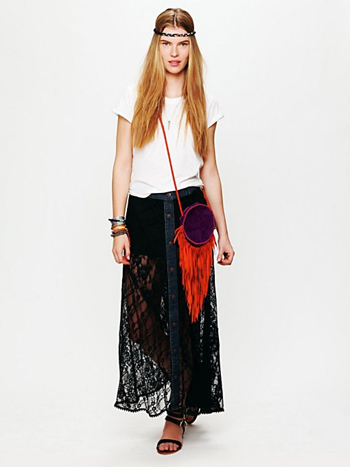 Lace Rodeo Skirt