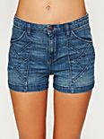 High Waisted Seamed Chloe Short